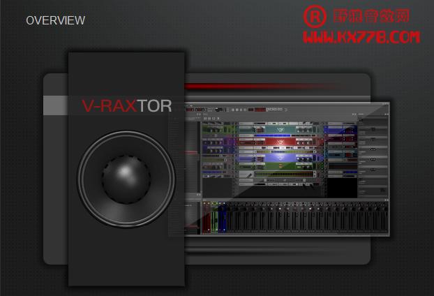 k歌机架宿主软件-V-Raxtor汉化破解版本网首