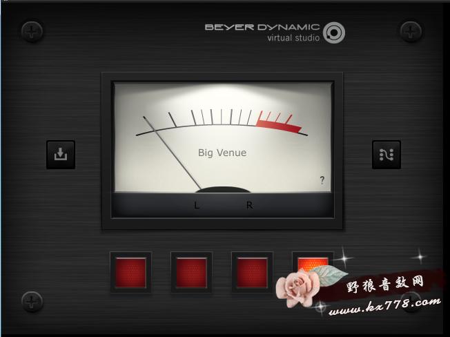 虚拟场景模拟效果器beyerdynamicVS
