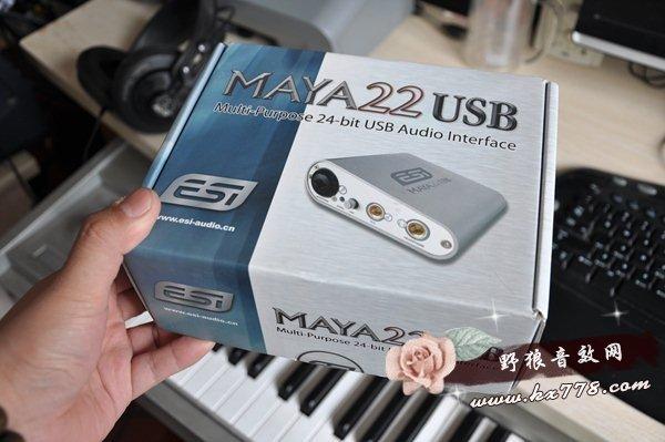 玛雅22声卡调试之MAYA22 USB