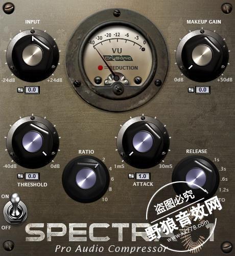 VST插件推荐-SpectraC1-压缩效果器