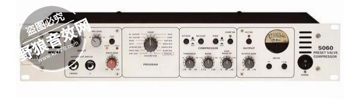 5060的核心是使用了电子管和晶体管混合电路的立体声压缩器.