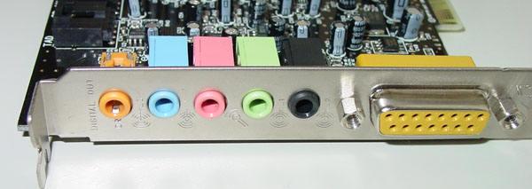 创新声卡5.1接口都是什么用的?创新5.1声卡接口介绍!