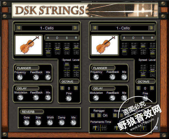 DSK Strings小提琴软音源